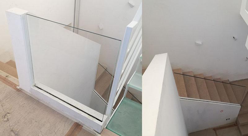 Redar porte finestre arredi scale acciaio e vetro - Finestre per scale ...